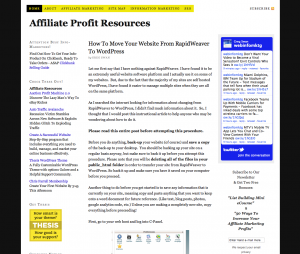 Affiliate Profit Resources