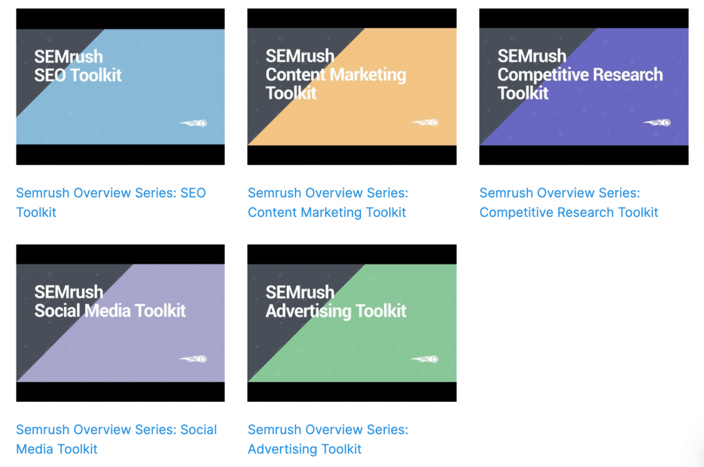 semrush tool kit